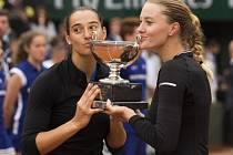 Caroline Garciaová a Kristina Mladenovicová