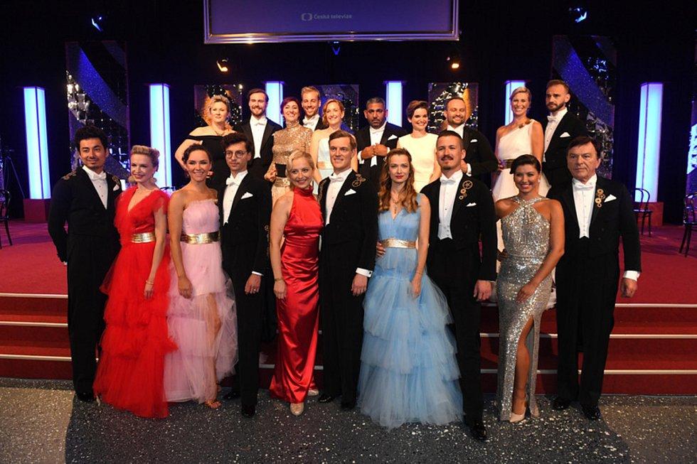 Účastníci 11. ročníku taneční soutěže StarDance