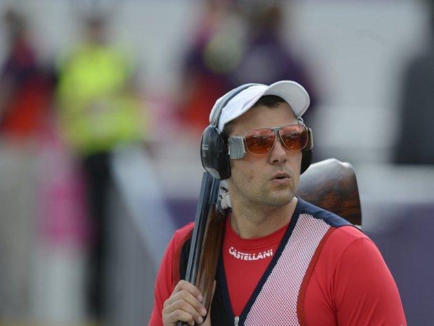 David Kostelecký na olympijských hrách v Londýně.