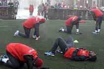 Fotbalová Sparta je v těchto dnech na soustředění ve Špindlerově Mlýně.