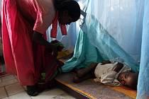 Až 15 procent dětí, které se do Šašamene dostanou, jsou na pokraji smrti hladem.