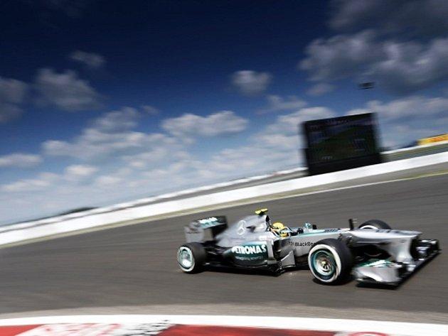 Lewis Hamilton ve Velké ceně Německa.
