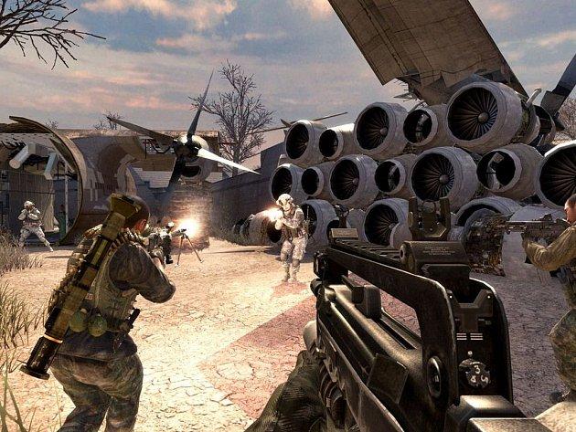 Počítačová hra Call of Duty: Modern Warfare 2.