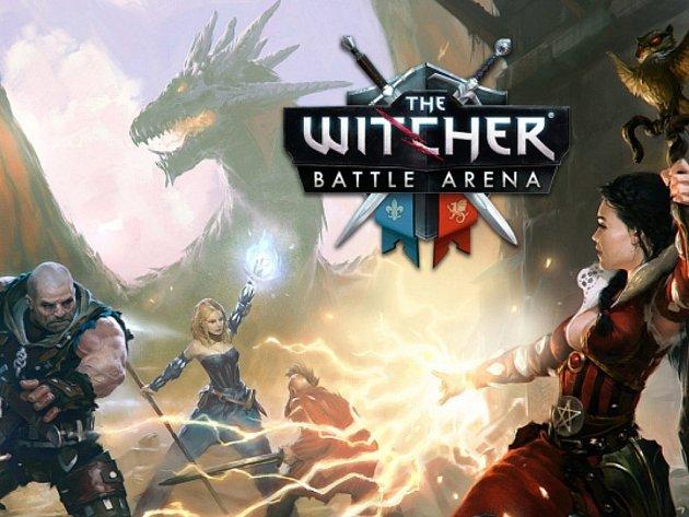Mobilní hra The Witcher: Battle Arena.