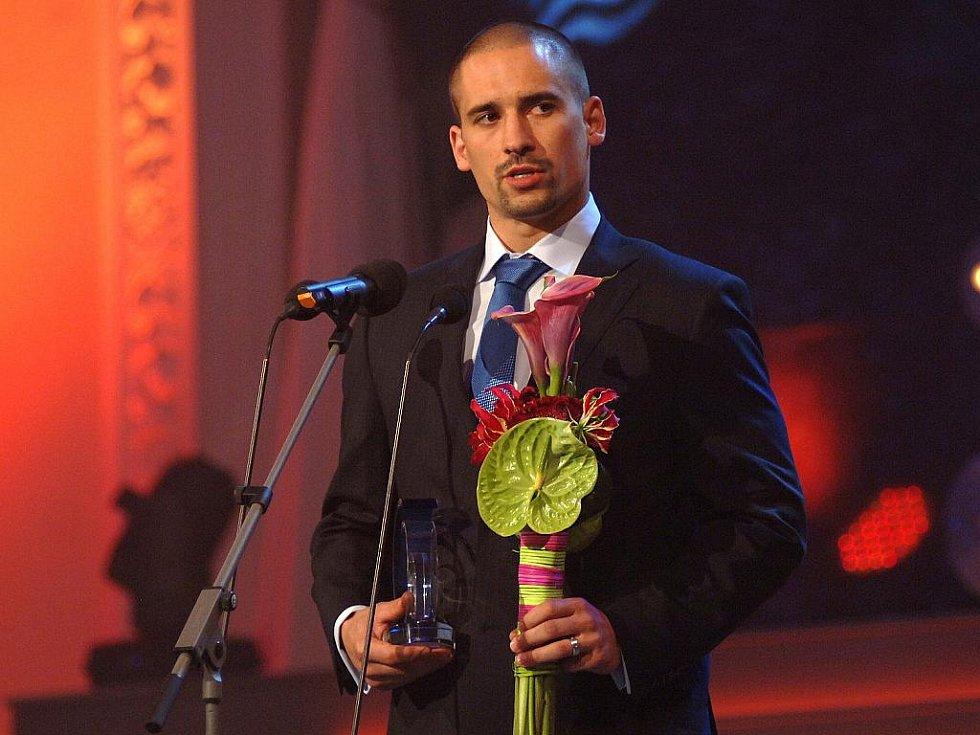 Tomáš Plekanec skončil v anketě Zlatá hokejka druhý.
