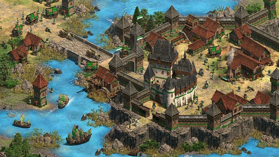 """Husité a Jan Žižka jsou součástí připravované videohry od Microsoftu. Jde o rozšíření kultovní strategie Age of Empires II, původně z roku 1999. Nové kampaně, kde vystupují i """"Bohemians"""", vyjdou v srpnu jako Úsvit vévodů (Dawn of the Dukes). Zdroj: Micros"""