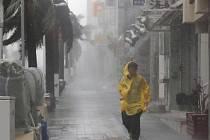 Japonsko zasáhl tajfun Trami