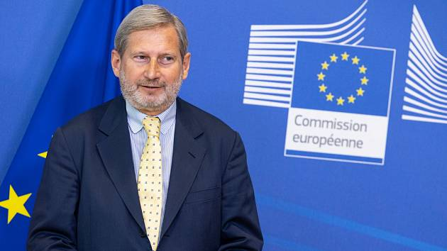 Komisař pro rozpočet Johannes Hahn