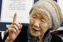 Nejstarším žijícím člověkem se stala 116letá Japonka Kane Tanakaová.