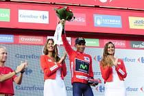 Kolumbijský cyklista Nairo Quintana je poprvé vítězem španělské Vuelty
