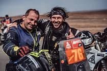 Roman Krejčí a Libor Podmol na Rallye Dakar