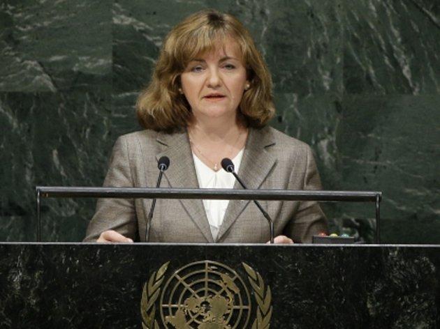 Moldavská ministryně zahraničí Natalia Ghermanová.