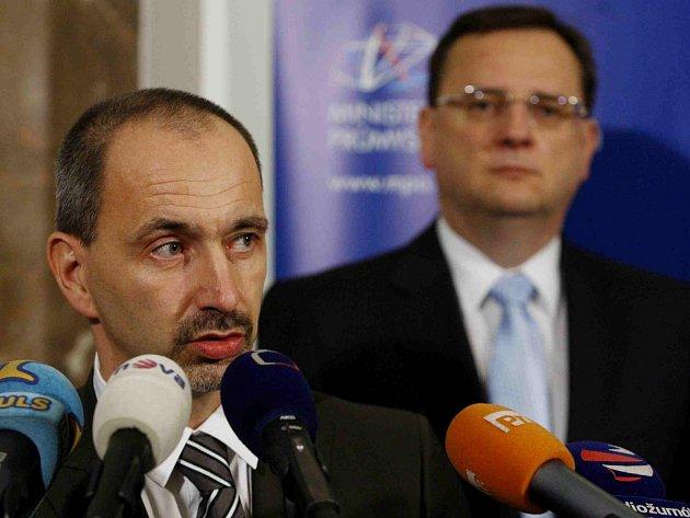 Martin Kuba a Petr Nečas