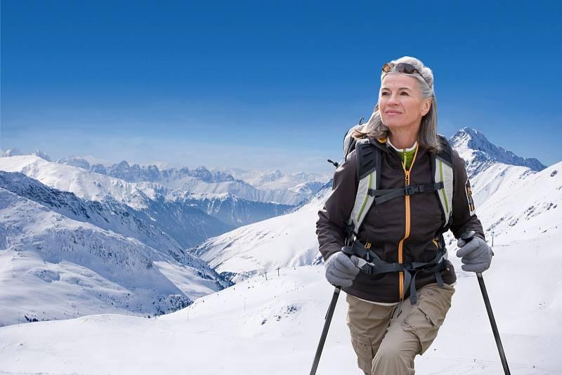 Horská turistika je vnašich podmínkách snízkými vrcholky snadno zvládnutelná