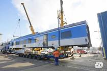 Vagon Siemens/Škoda pro České dráhy