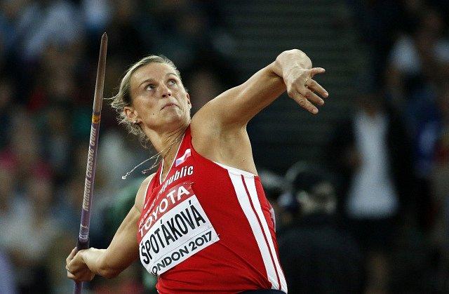 Česká oštěpařka Barbora Špotáková