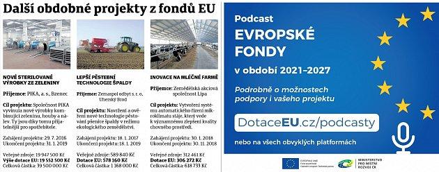 Další projekty EU