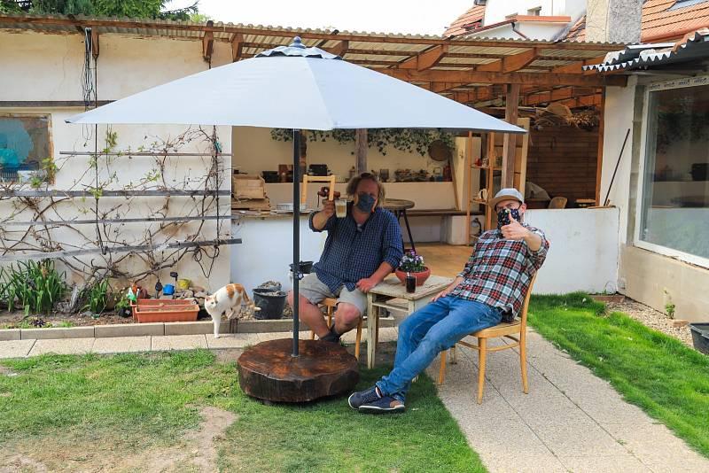 Výroba stojanu na slunečník