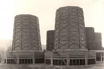 Elektrárna Trmice - Chladicí věže