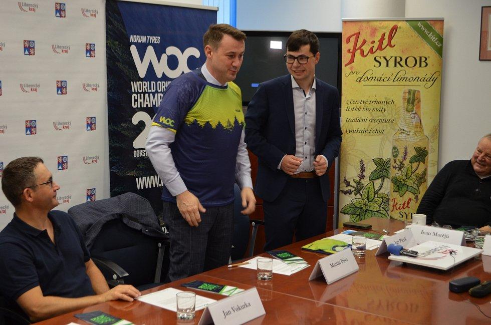 Přípravy na šampionát probíhají na všech úrovních - zde organizátoři jednali s hejtmanem Libereckého kraje