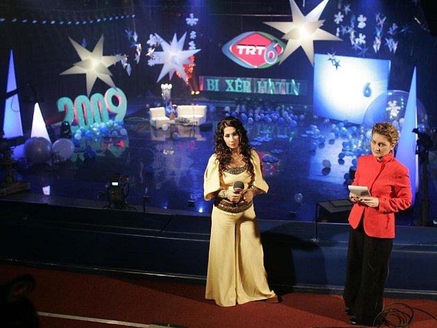 Turecká státní televize vytvořila na jednom ze svých kanálů kurdskou čtyřiadvacetihodinovou stanici.
