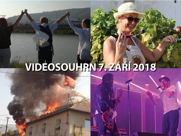 Videosouhrn 7. září 2018