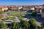 Současná podoba Vítězného náměstí