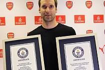 Petr Čech s certifikáty
