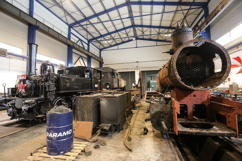 Železniční muzeum v Lužné u Rakovníka
