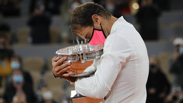 Rafael Nadal po třináctém triumfu na Roland Garros