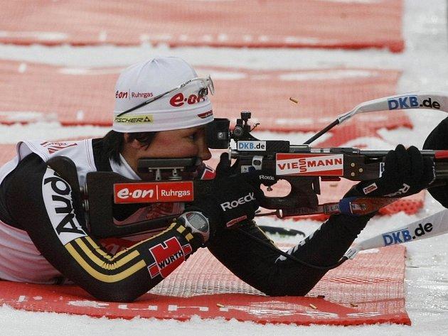 Německá biatlonistka Simone Hauswaldová ovládla závod SP na 15 km ve Vancouveru.