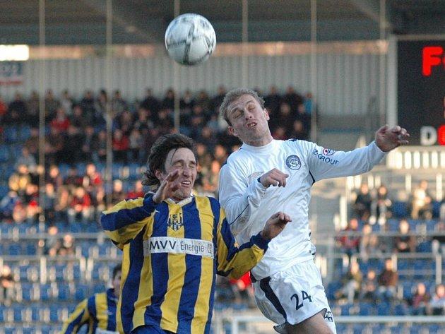 Ve šlágru druhé ligy remizovali fotbalisté 1. FC Slovácko s Opavou 1:1.