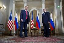 Vladimir Putin a Donald Trump