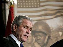 George Bush bude zákon, prosazený demokraty, vetovat.