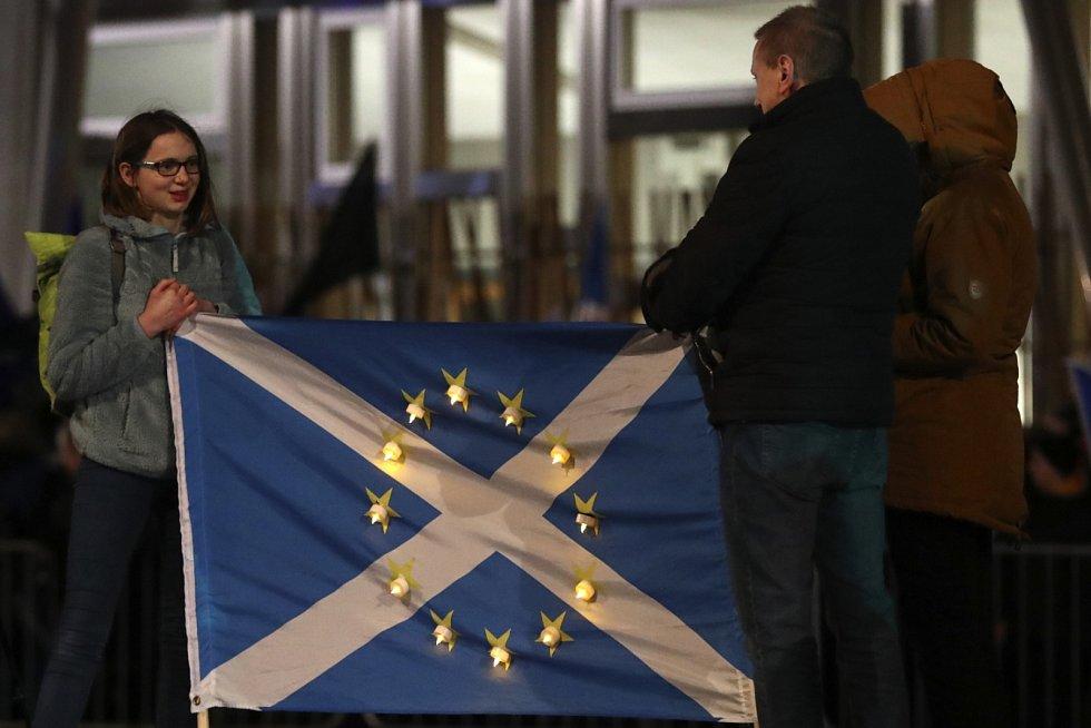 Velká část odpůrců opuštění Evropské unie pochází ze Skotska…