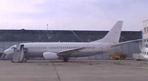 Podezřelé letadlo na bratislavském letišti.