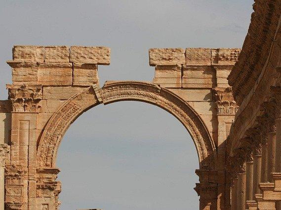 Starověká Palmýra. Ilustrační foto
