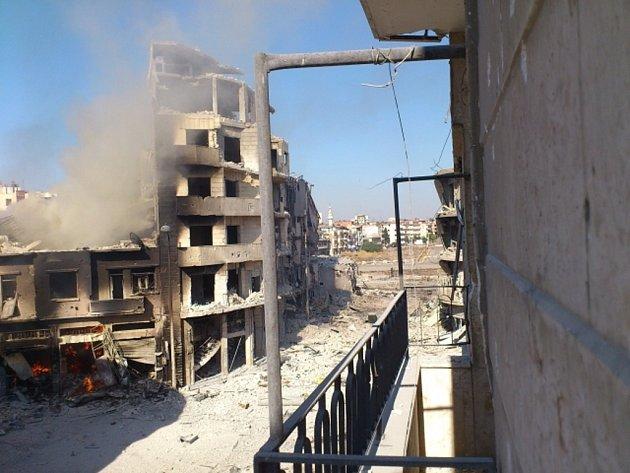 Nepokoje v Sýrii.