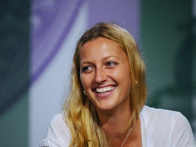 Dvojnásobná wimbledonská vítězka Petra Kvitová.