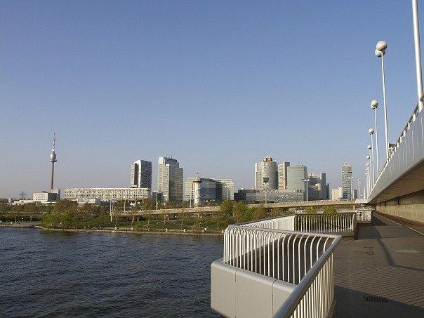 Dunaj ve Vídni. Ilustrační foto