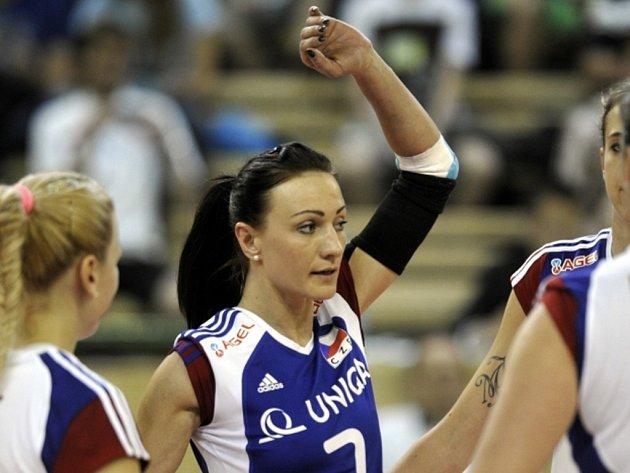 Volejbalistka Markéta Chlumská si návrat do reprezentace užívá.