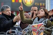 Protesty v Egyptě.