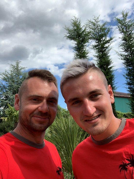 Miroslav Effenberger (vlevo) a Jiří Michna.