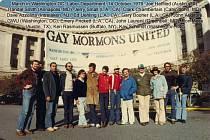 Národního pochodu za práva gayů a leseb se v říjnu 1979 zúčastnili i zástupci amerických homosexuálních mormonů