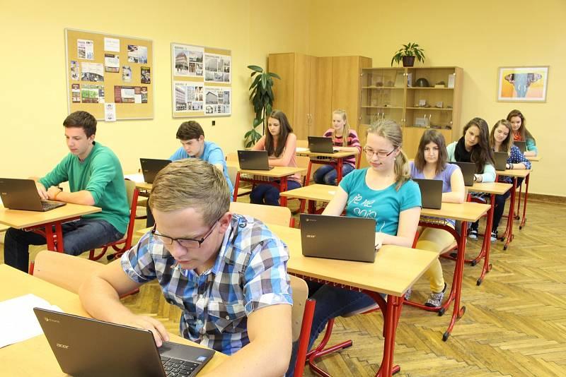Gymnázium v Příboře - Chromebooky