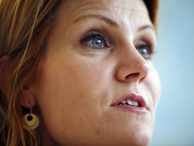 Dánská premiérka Helle Thorningová-Schmidtová.