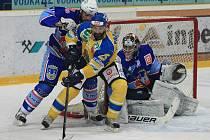Hokejisté Ústí se ve finále první ligy ujali vedení nad Chomutovem.