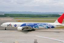 Boeing 777 Japan Airlines.