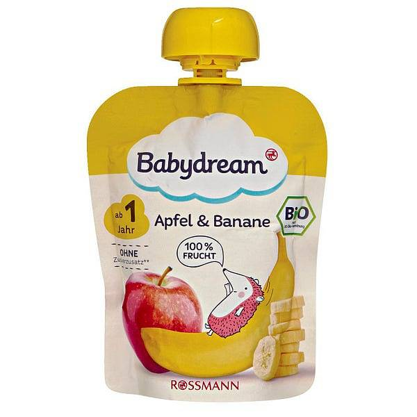 Rossmann babydream Apfel & Banane
