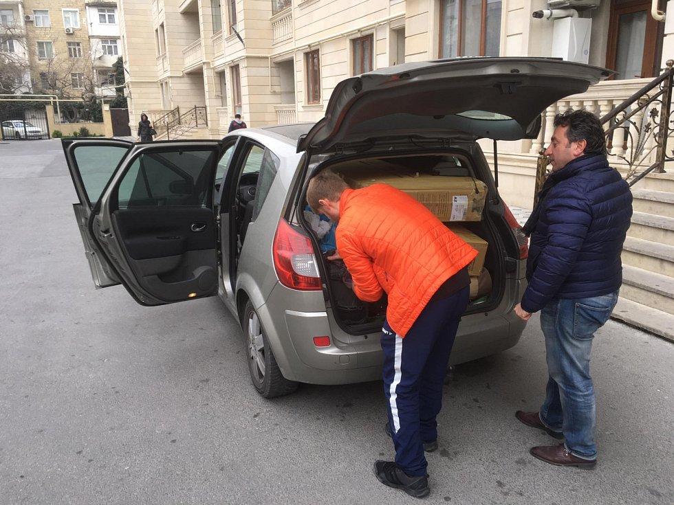 Odjezd z Baku.